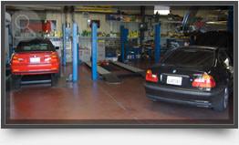 BMW Repairs in Shop
