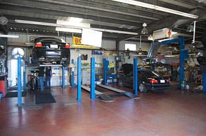 Audi Repairs in the Shop